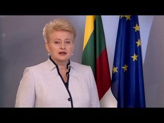Вітання Президента Литви з Днем Незалежності України